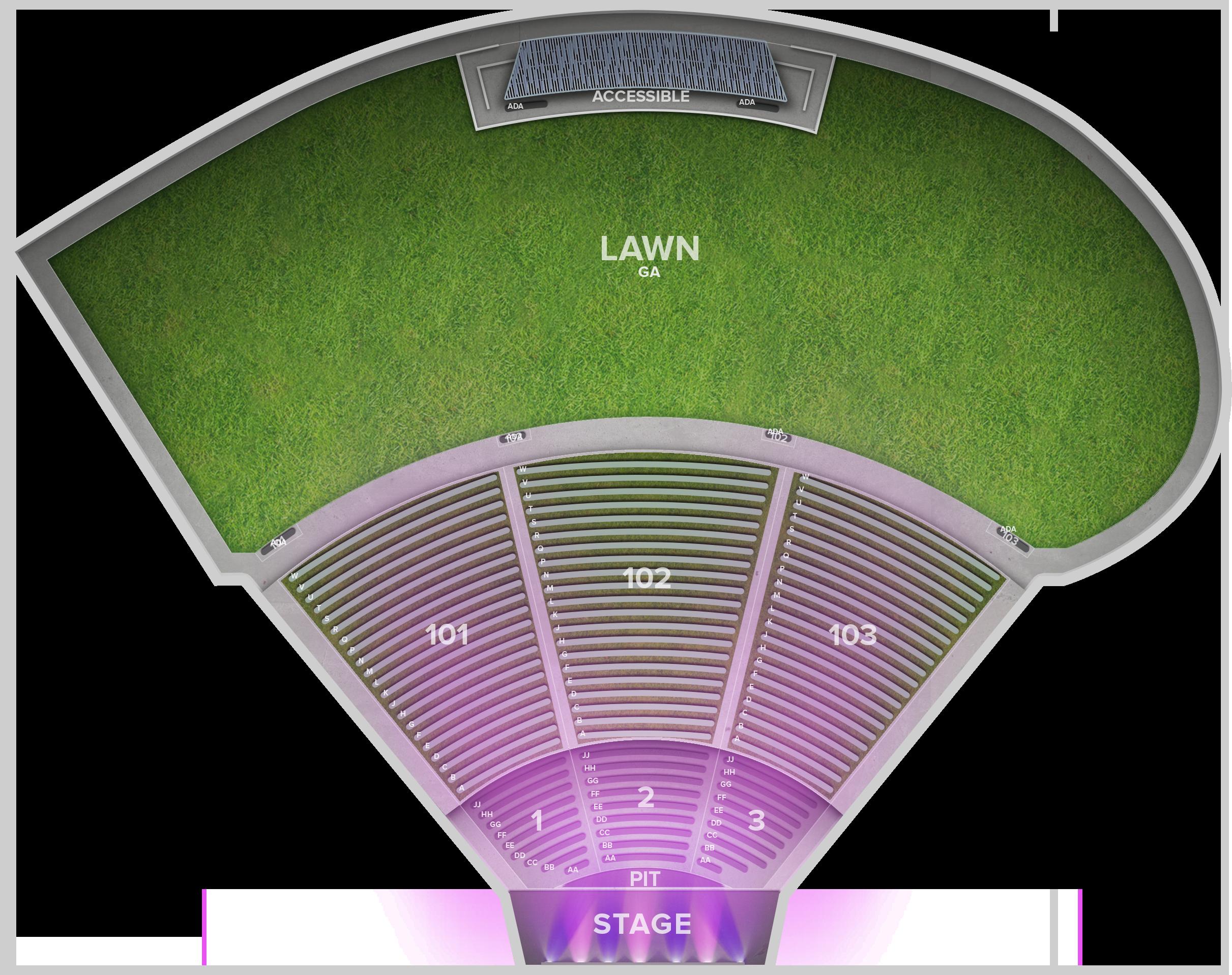 Ascend Amphitheatre Tickets