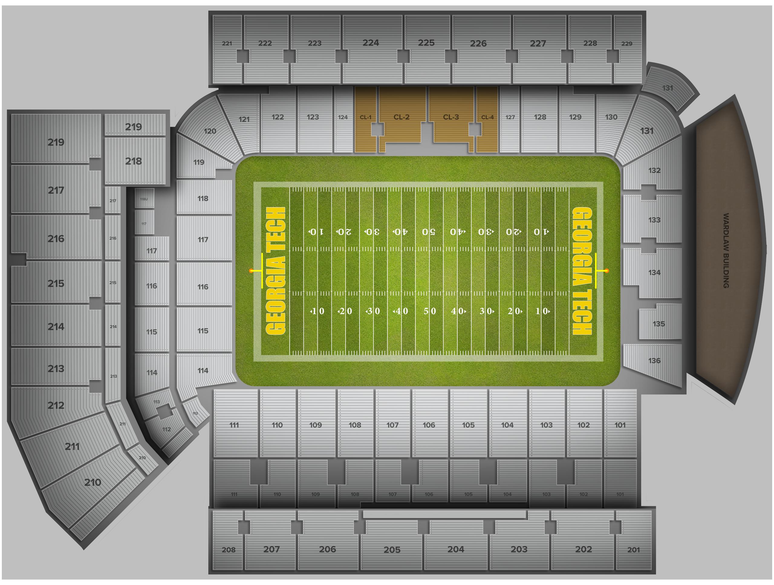 Bobby Dodd Stadium Tickets