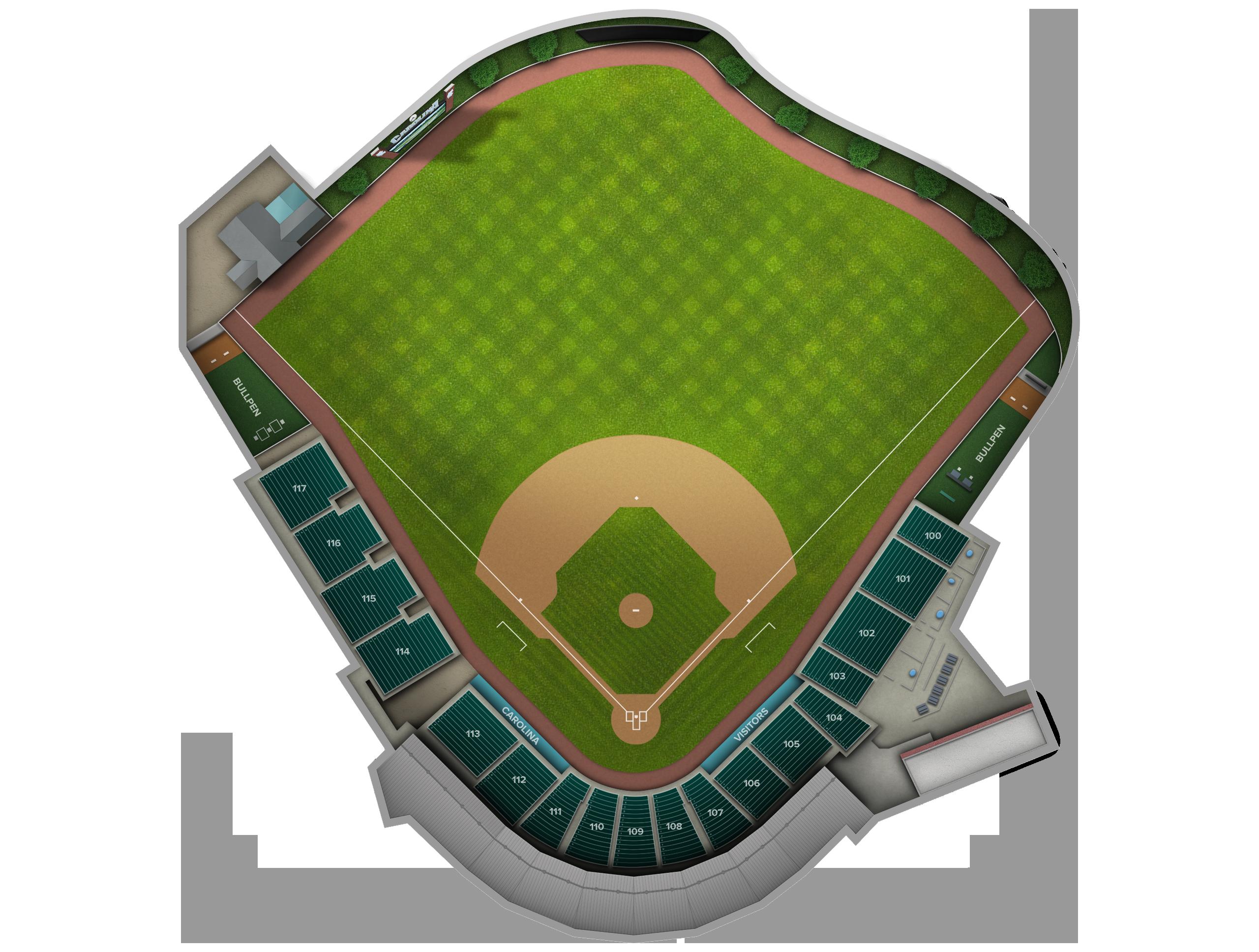unc baseball stadium seating chart - The future
