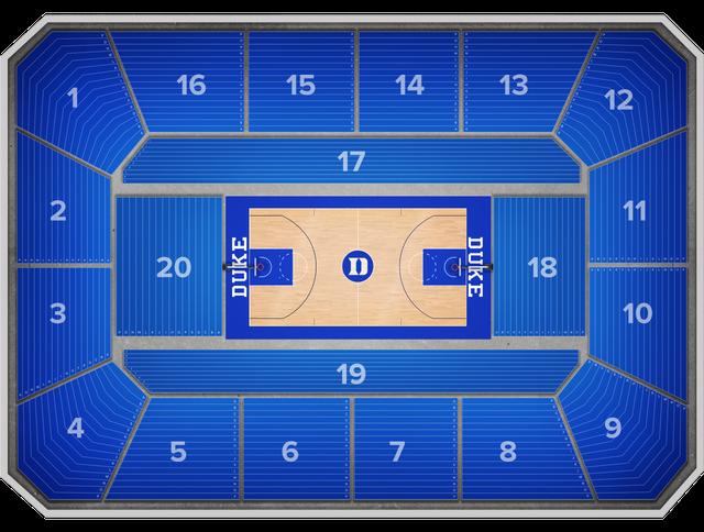 Eastern Michigan Basketball At Duke Basketball At Cameron Indoor