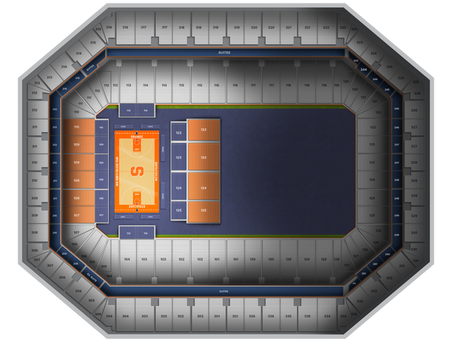 Duke Basketball At Syracuse Basketball At Carrier Dome Tickets From