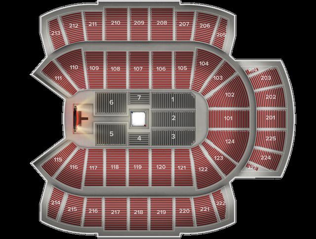 WWE Live at CenturyLink Center Tickets from $32, Friday, August 23 Centurylink Center Map on
