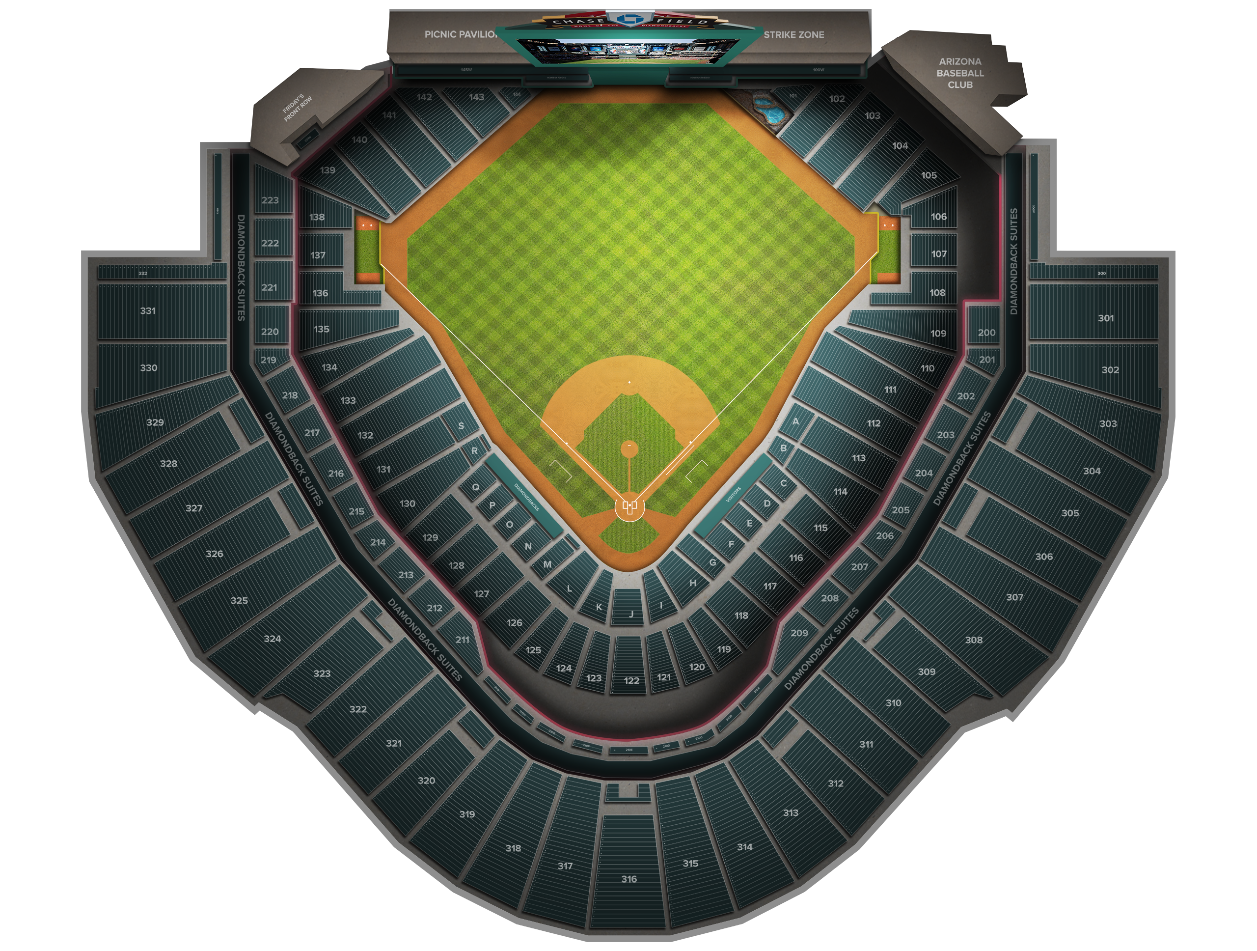 Chase Field Tickets