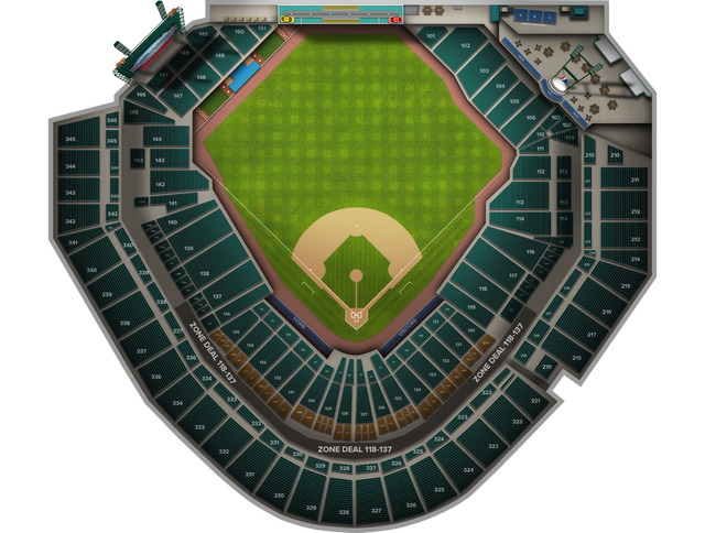 Oakland Athletics at Detroit Tigers at Comerica Park Tickets from ...