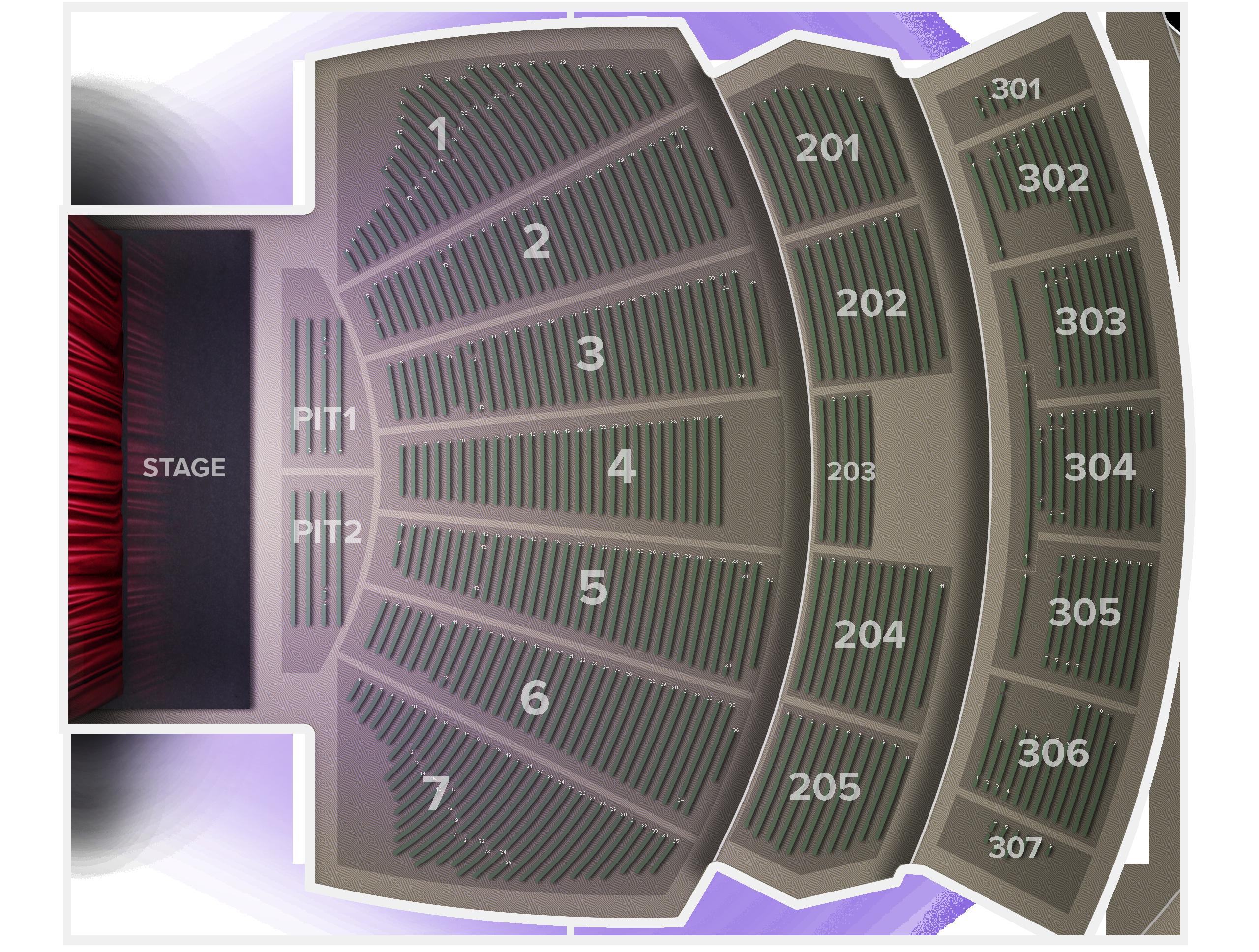 Comerica Theatre Tickets