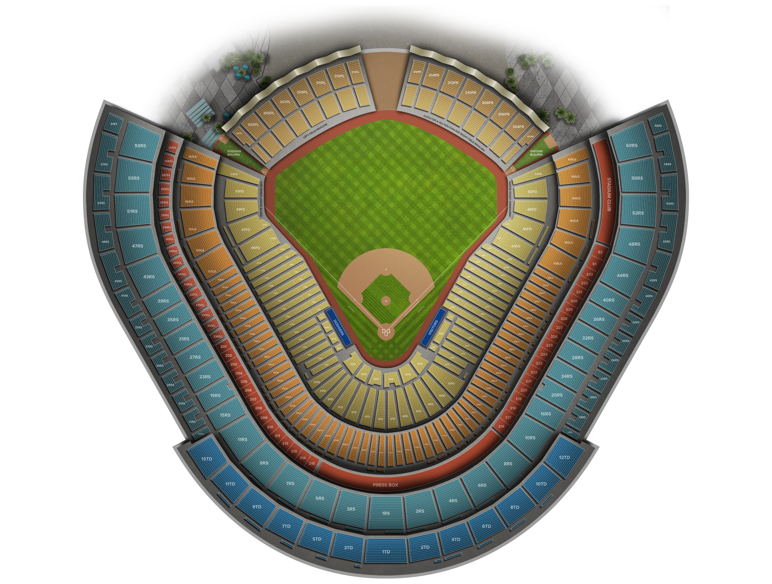 Dodger Stadium Tickets