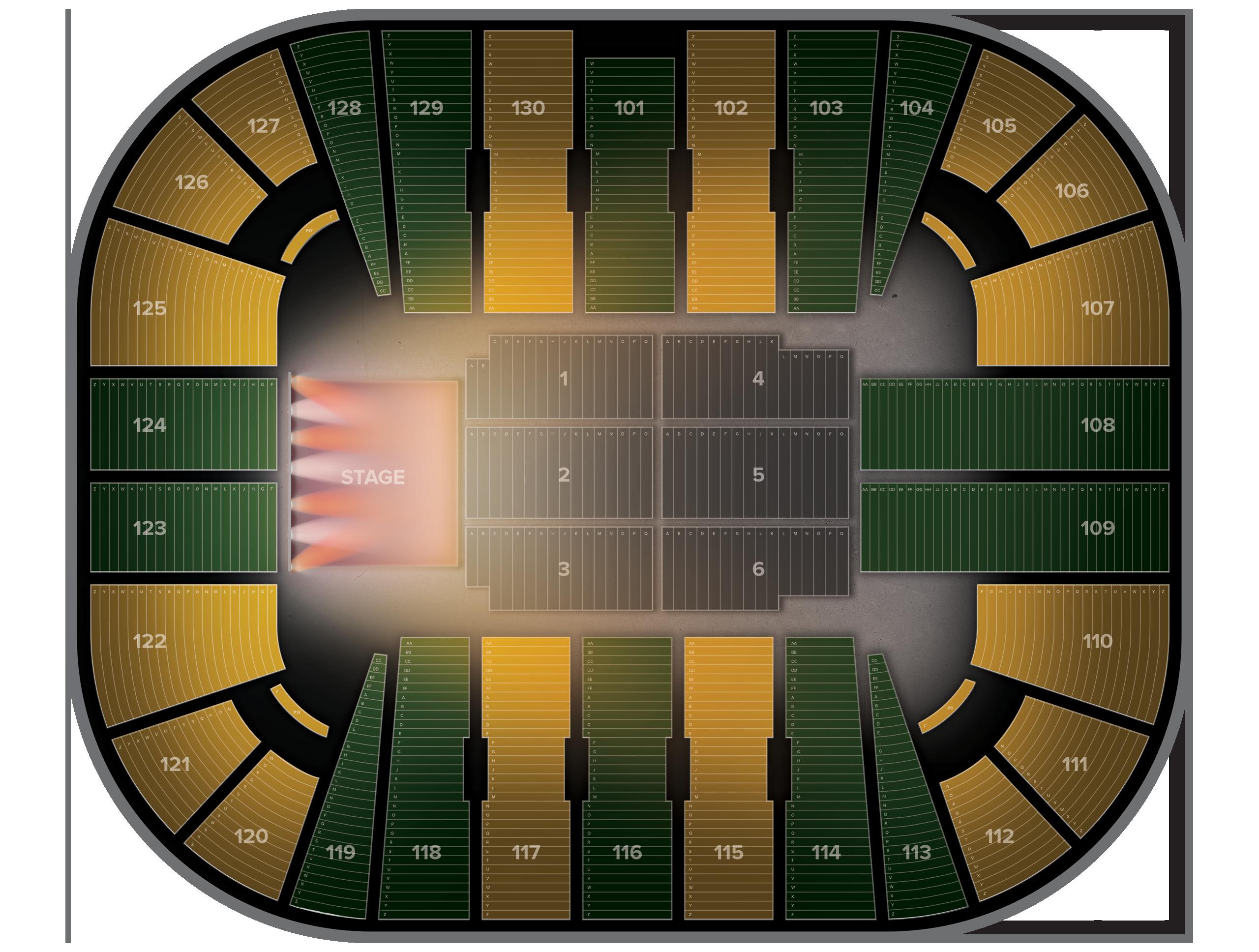 EagleBank Arena Tickets