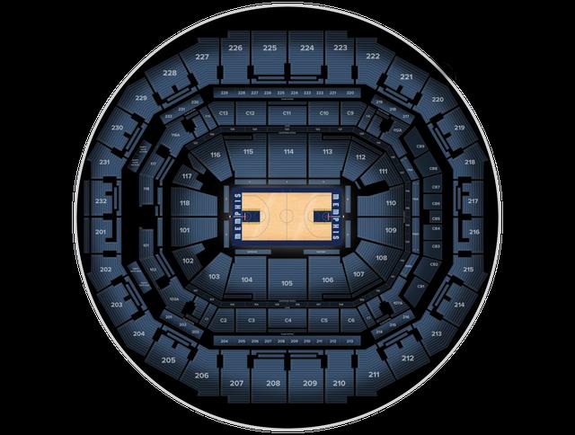 Miami Heat at Memphis Grizzlies at FedExForum Tickets from
