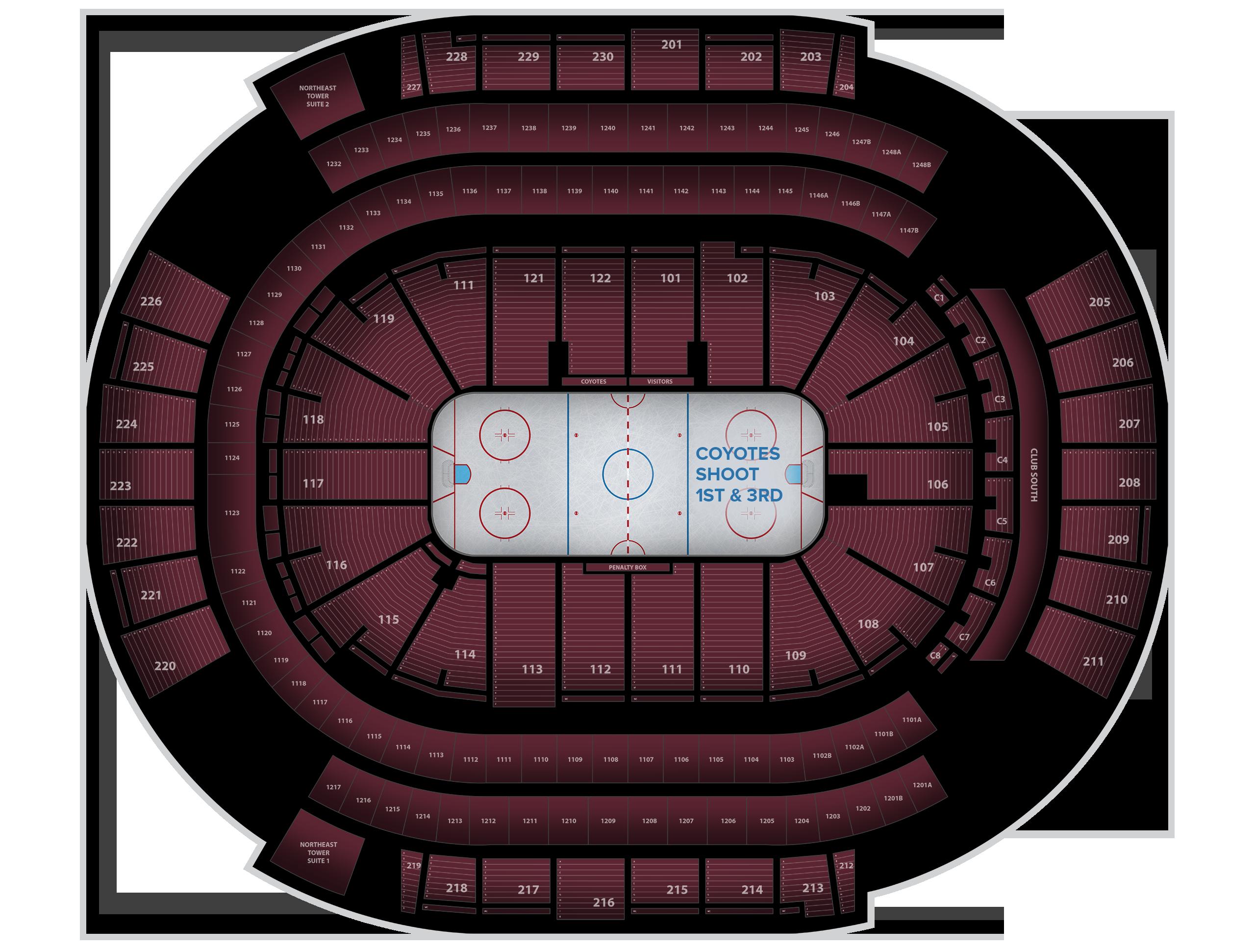 Gila River Arena Tickets