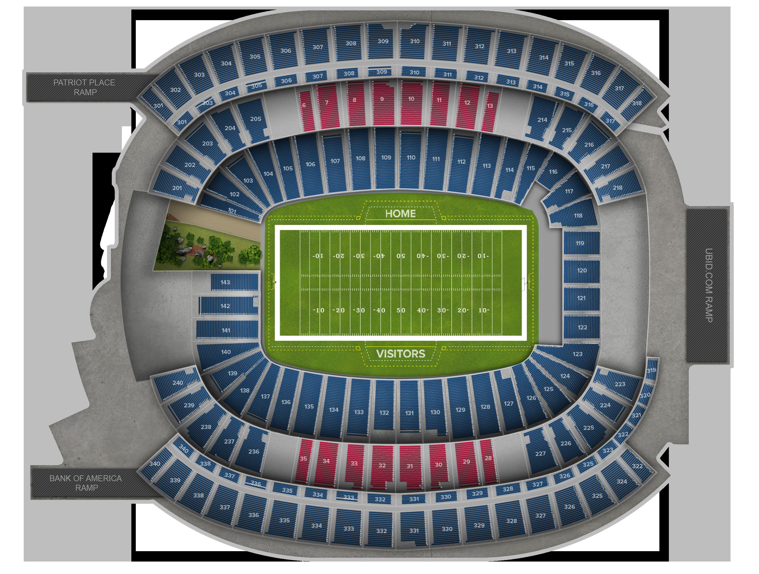 Gillette Stadium Tickets
