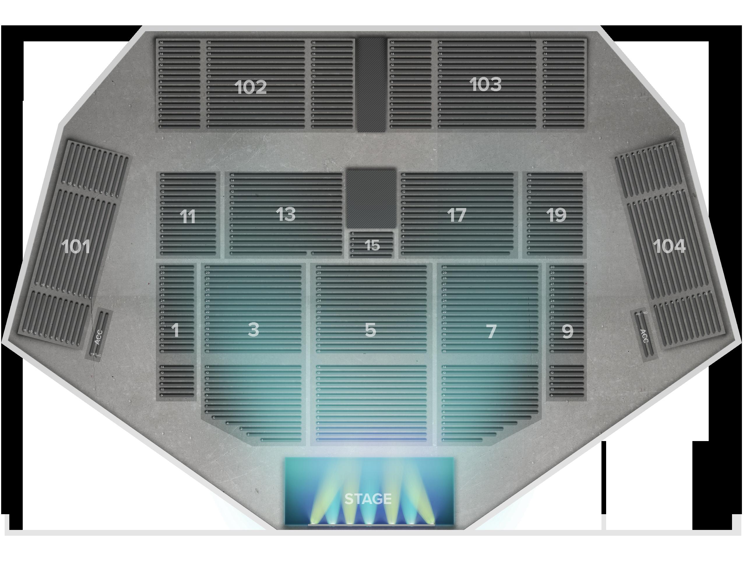 Harveys Outdoor Amphitheater Tickets
