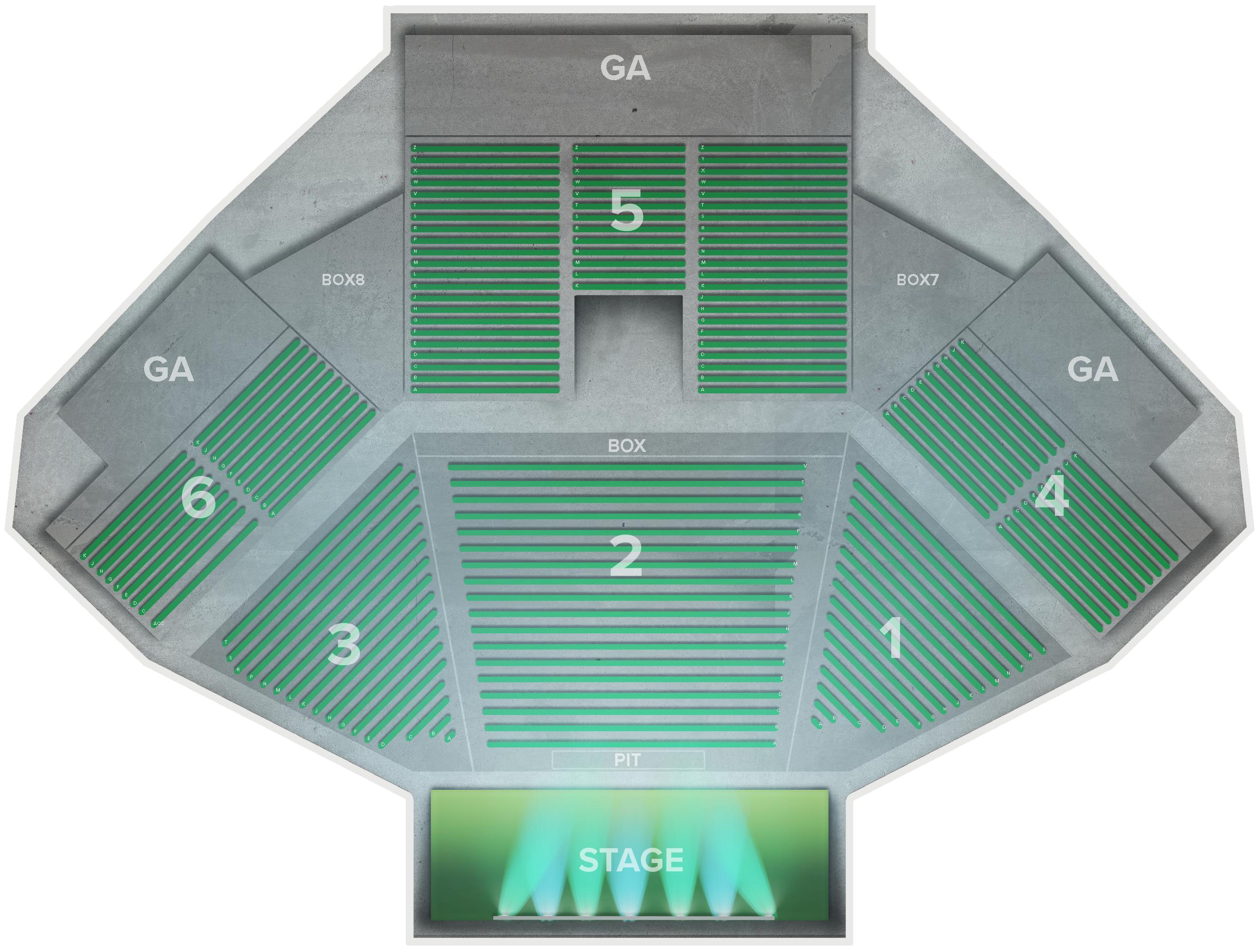 Jacobs Pavilion Tickets