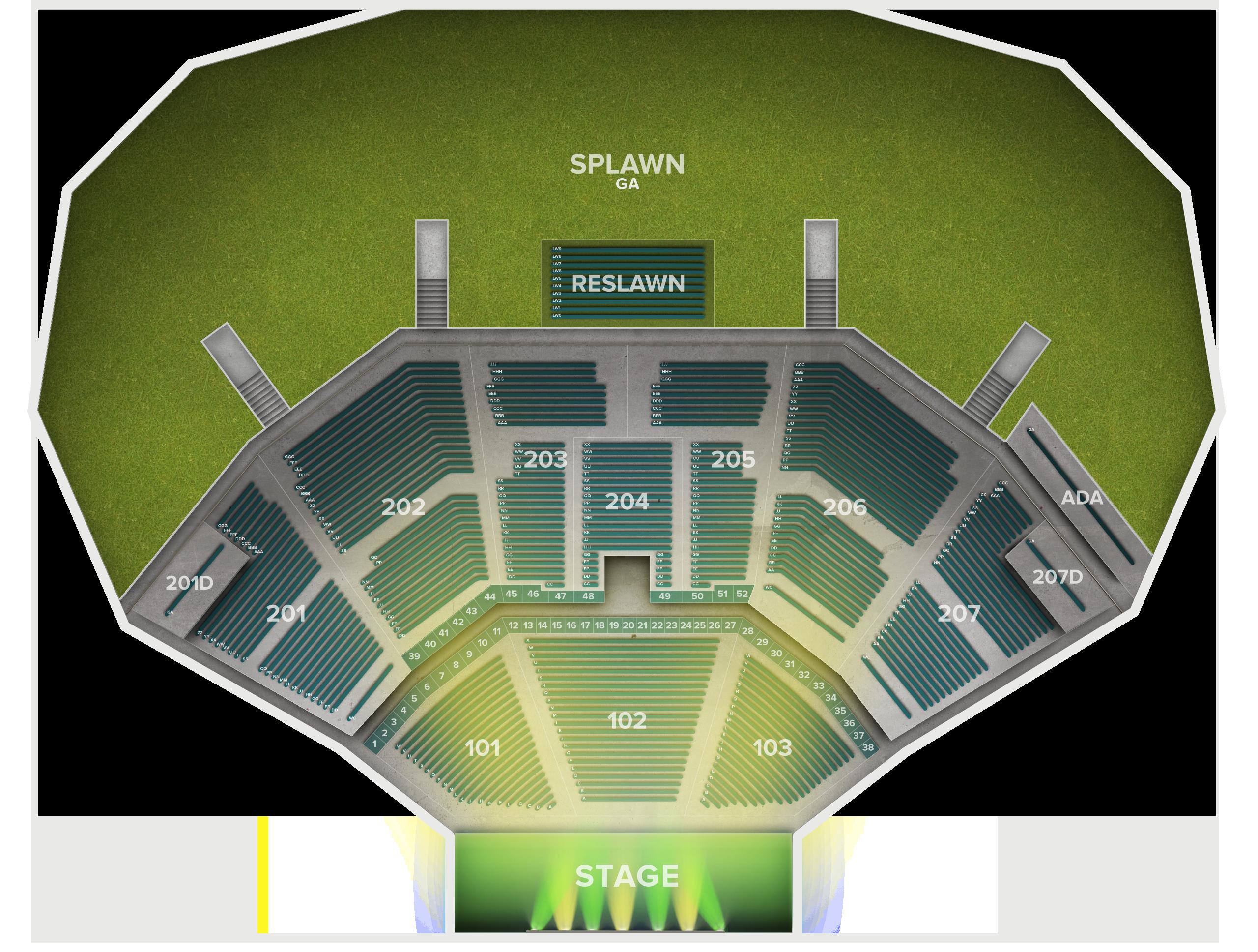 Cellairis Amphitheatre at Lakewood Tickets