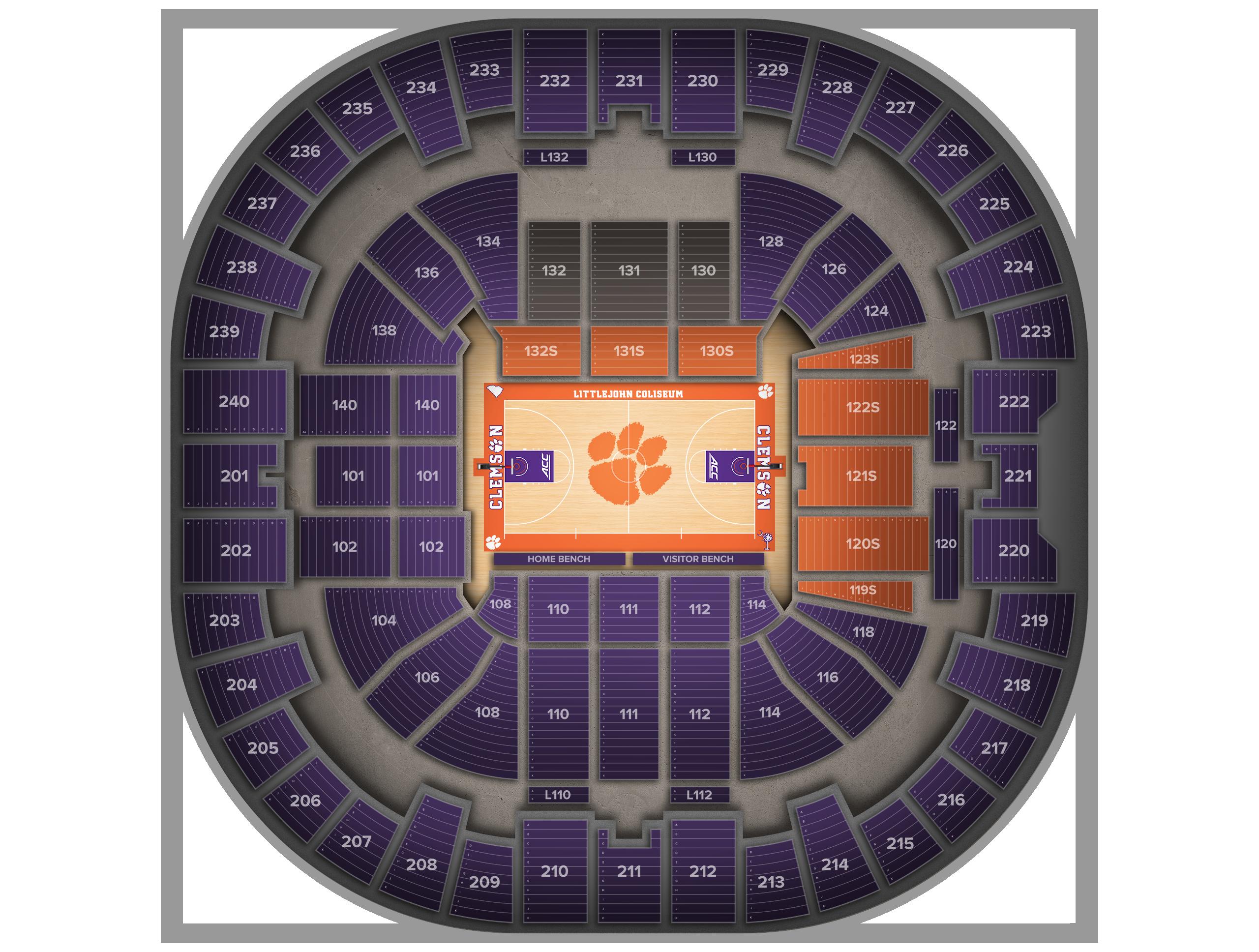 Littlejohn Coliseum Tickets