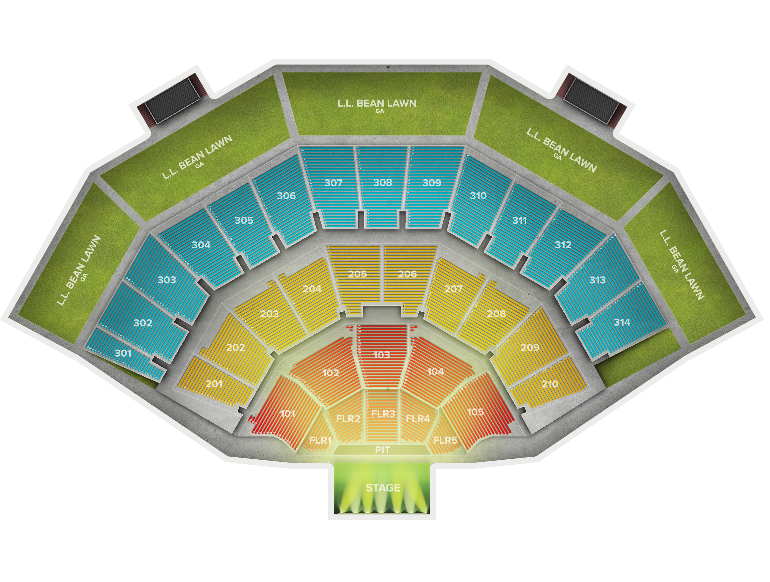 American Family Insurance Amphitheater Tickets