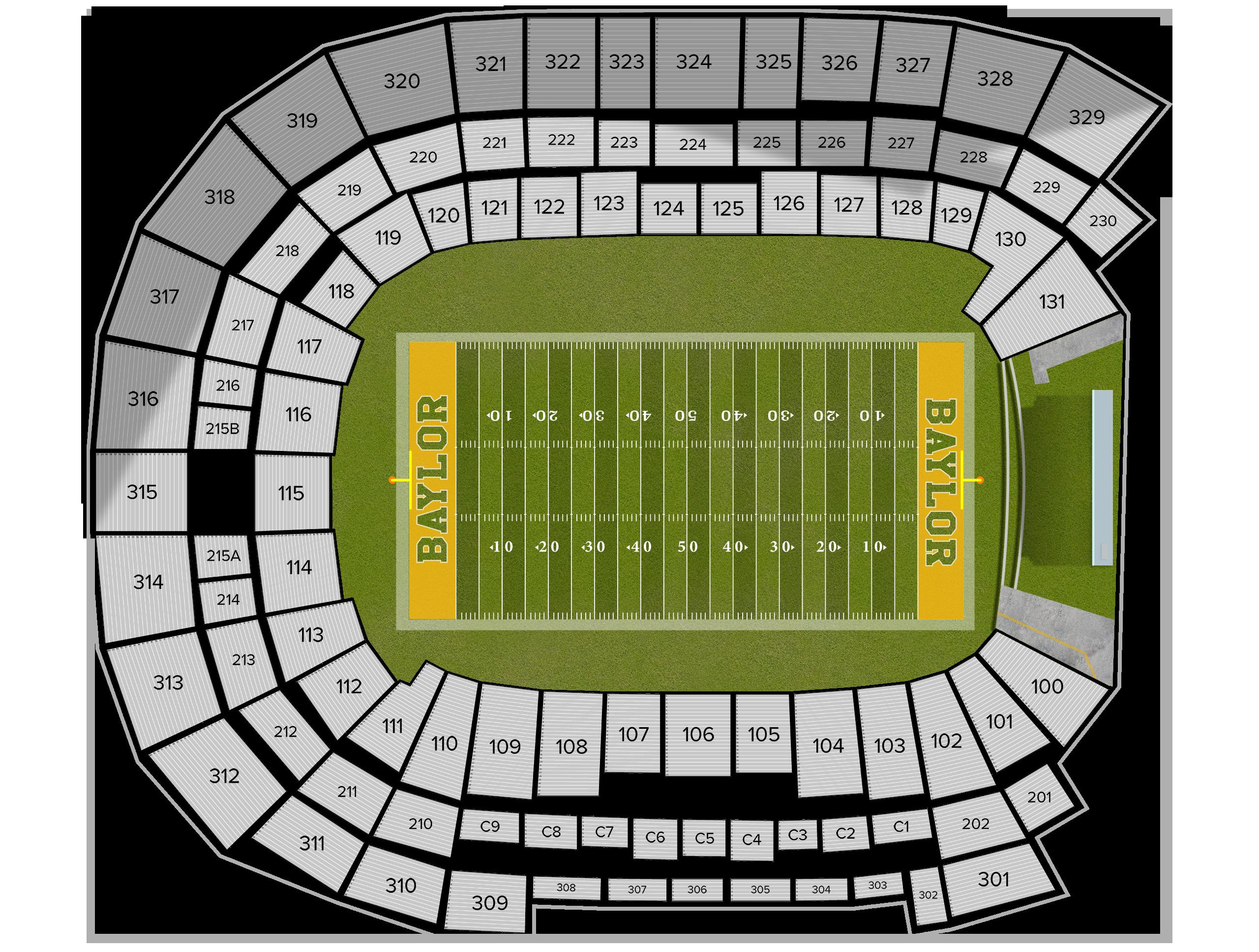 McLane Stadium Tickets