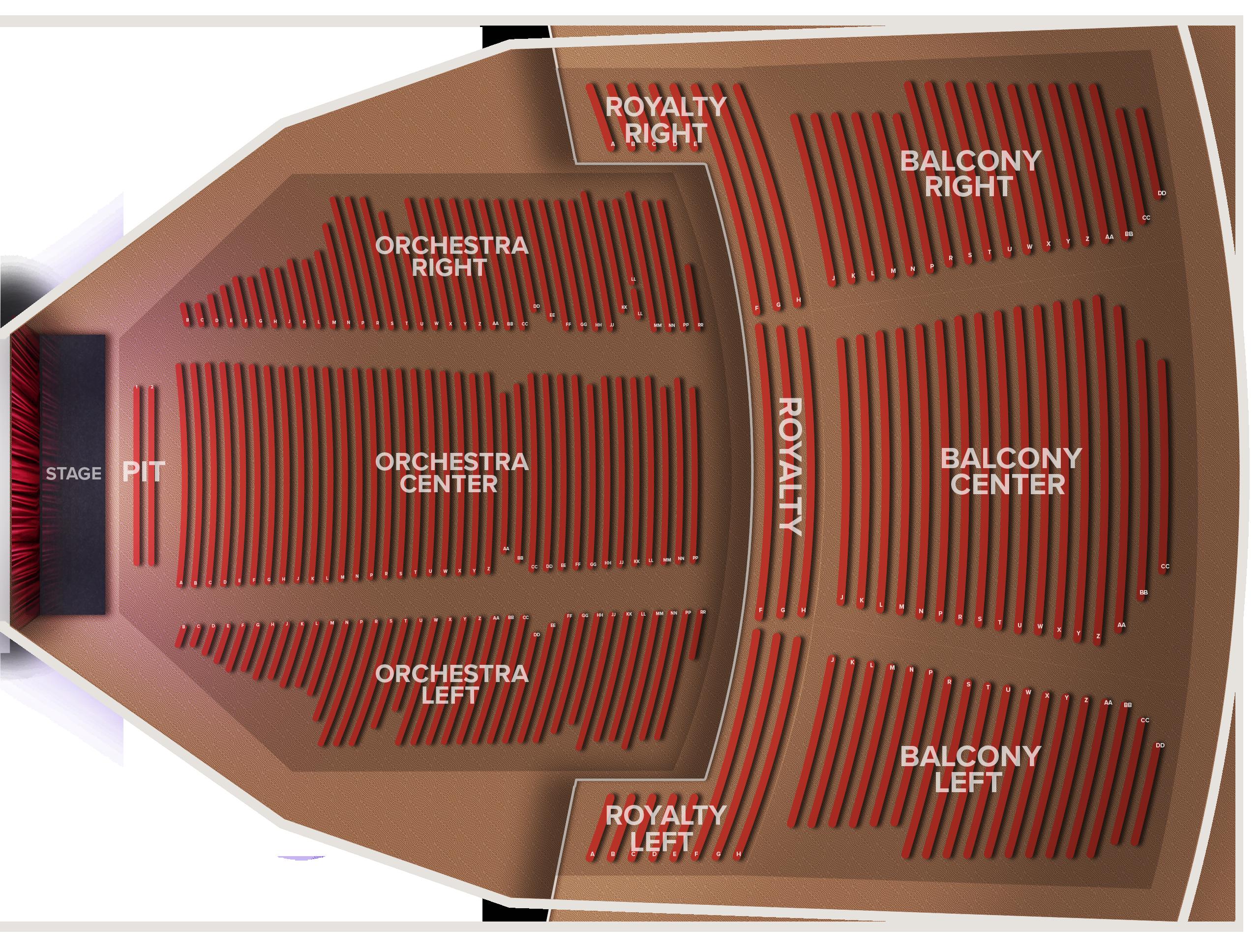 Murat Theatre Tickets