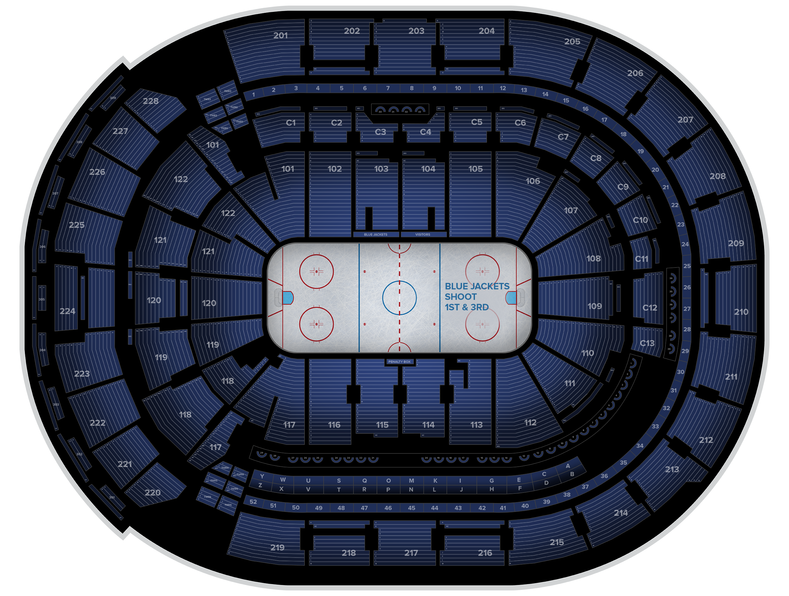 Nationwide Arena Tickets