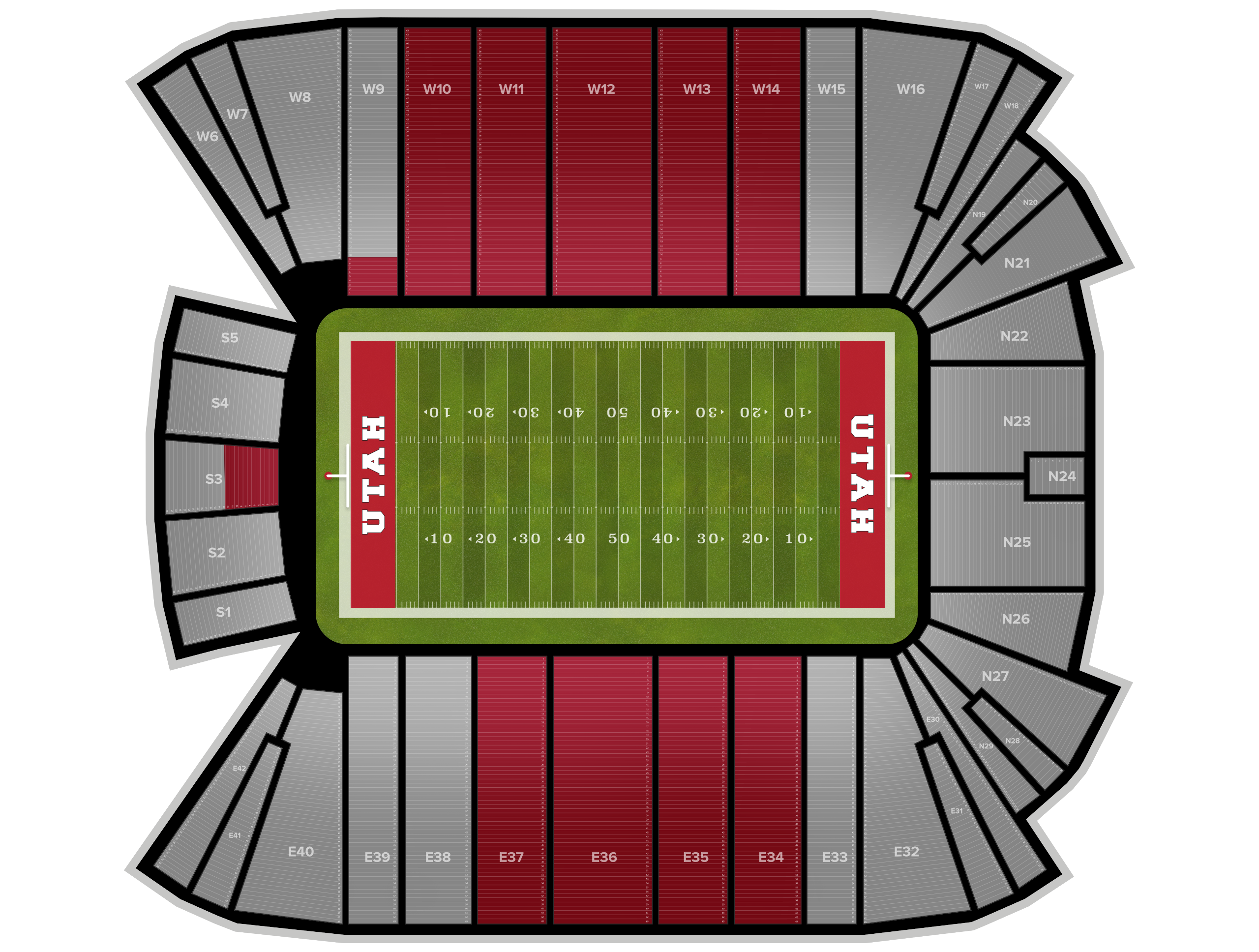 Rice-Eccles Stadium Tickets