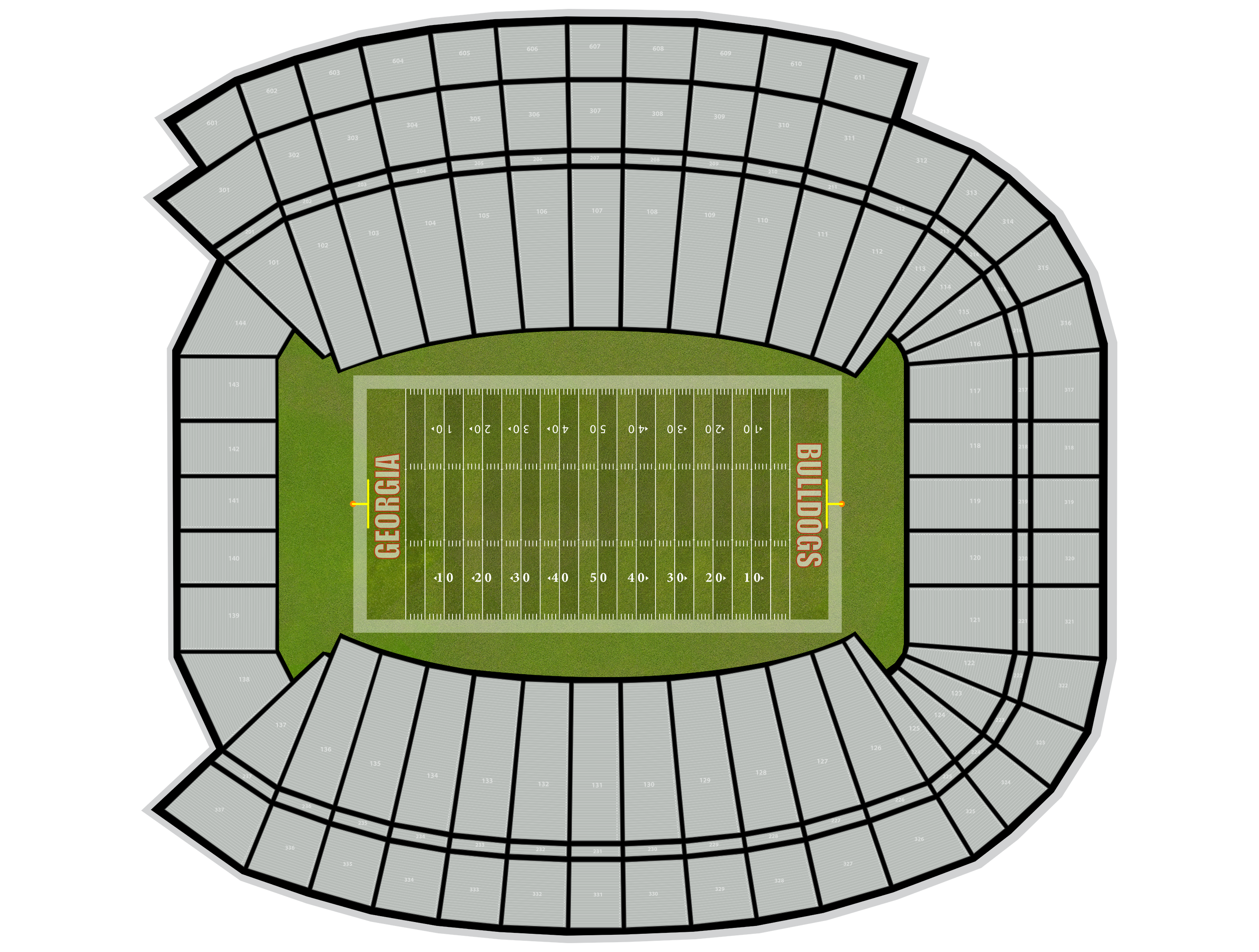 Sanford Stadium Tickets
