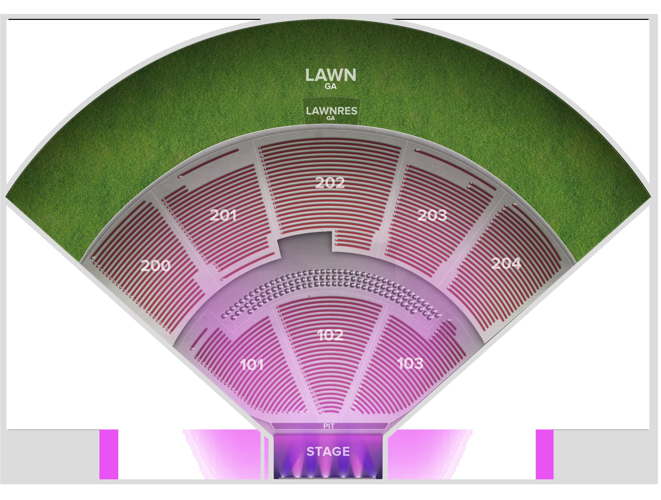 Shoreline Amphitheatre Tickets