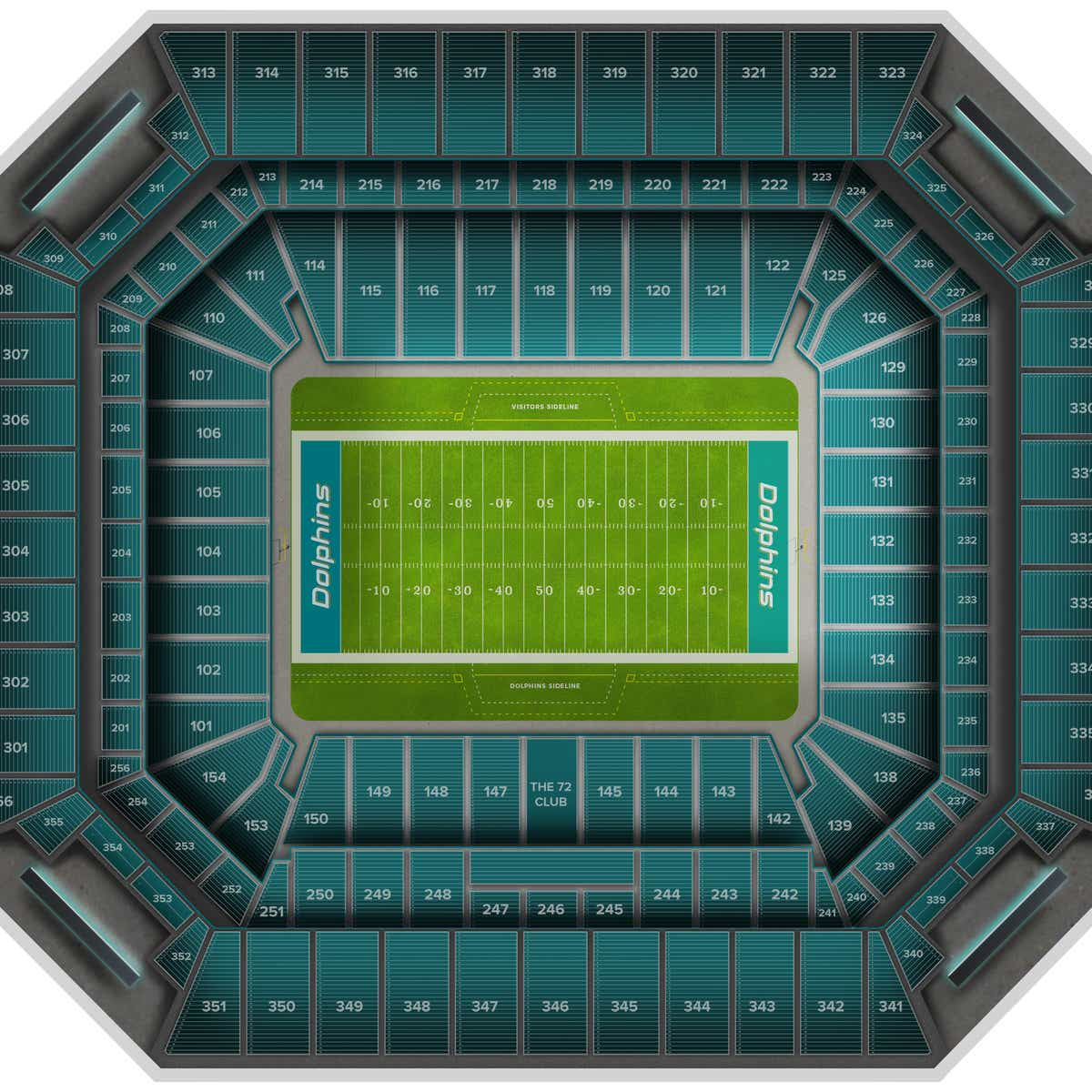 hard rock stadium tickets & events | gametime