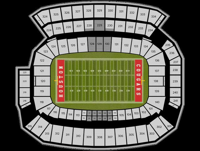 U Of H Football Stadium Address