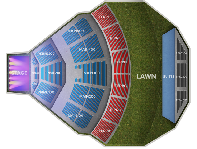 Mann Center Seating Chart Terrace B Awesome Home