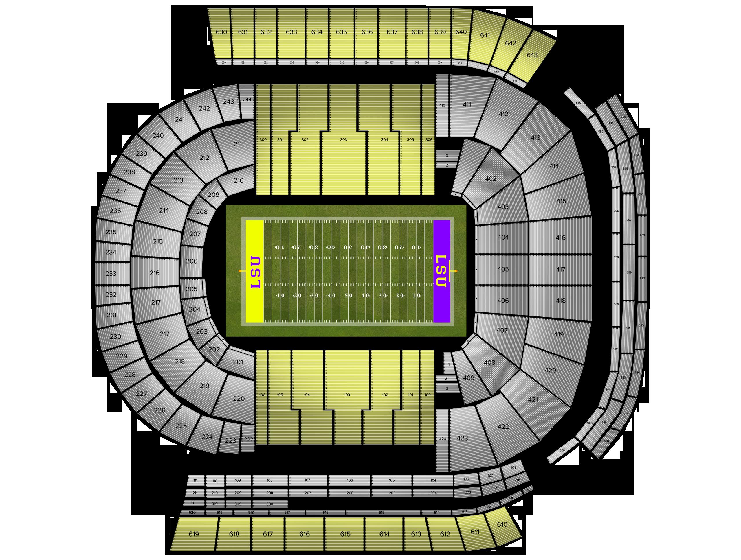 Tiger Stadium Tickets