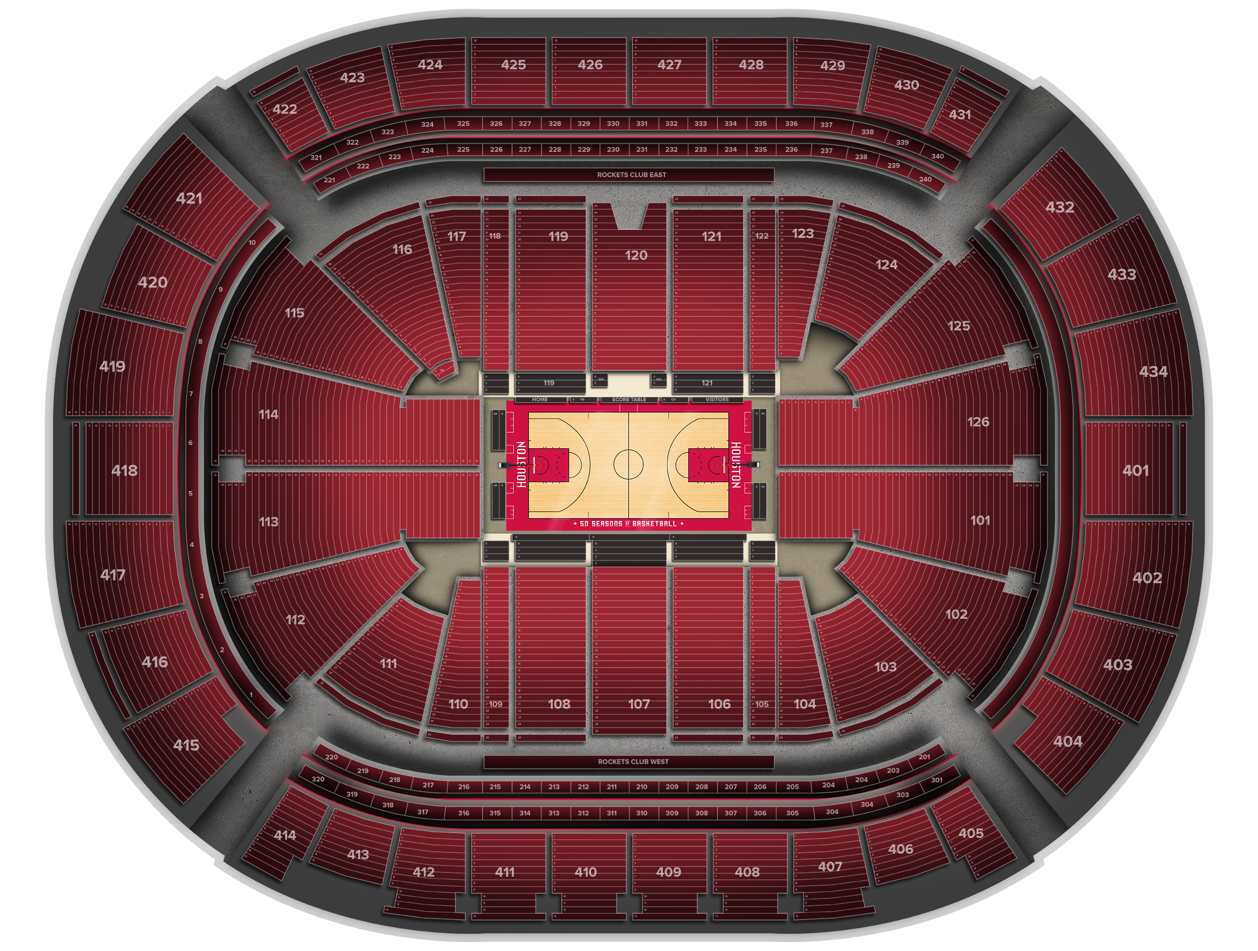 Toyota Center Tickets