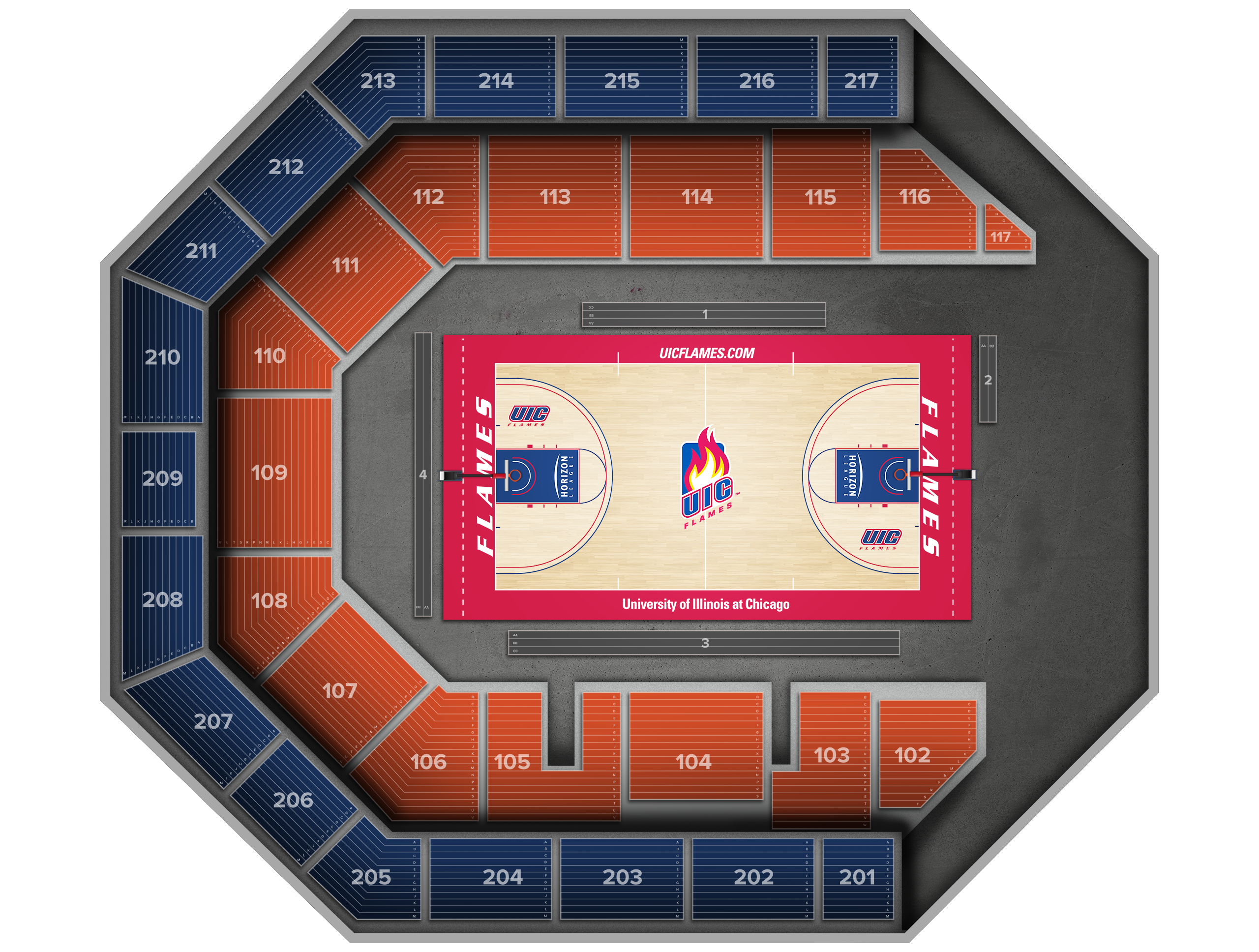 Credit Union 1 Arena Tickets