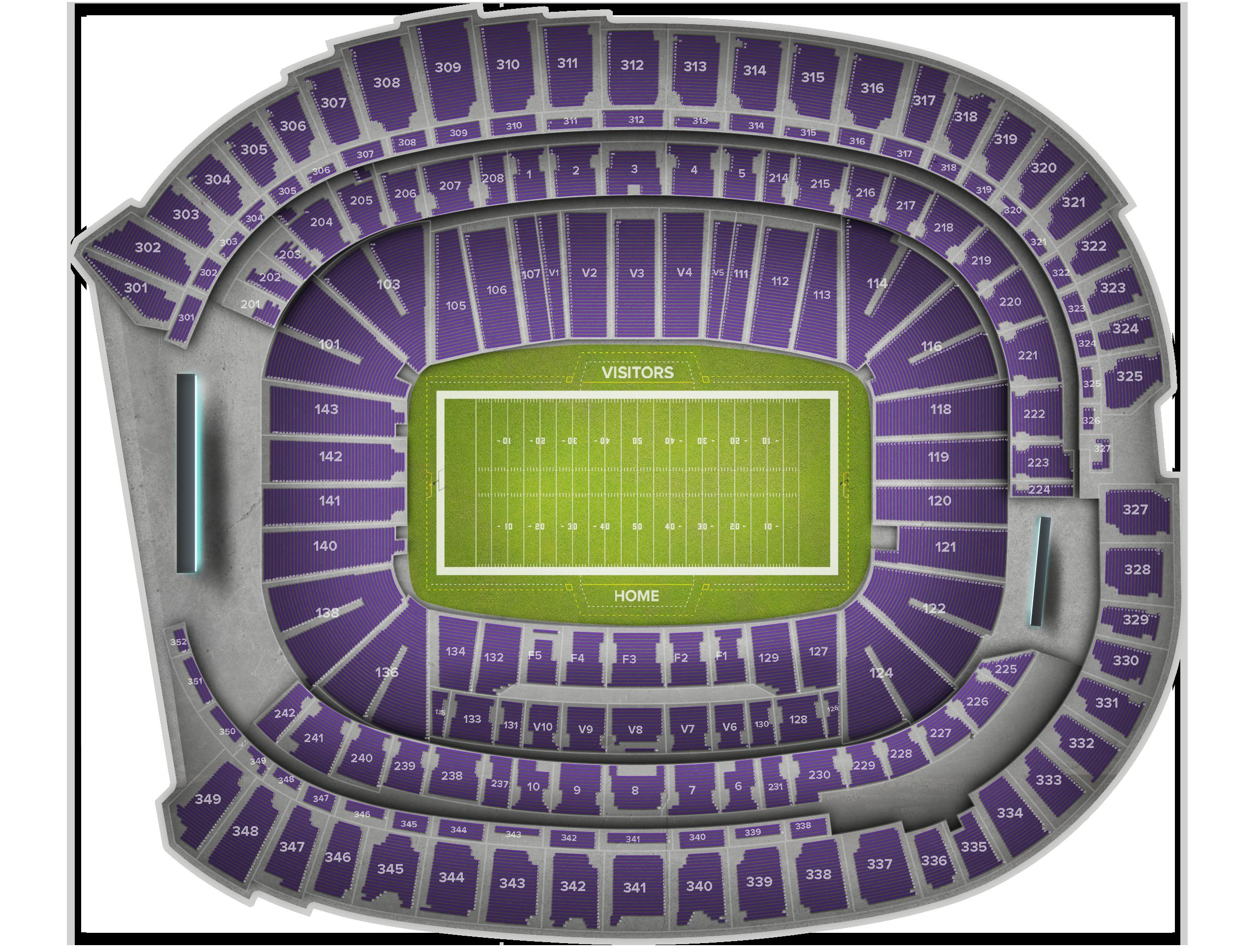 Buffalo Bills at Minnesota Vikings at US Bank Stadium Sep 23