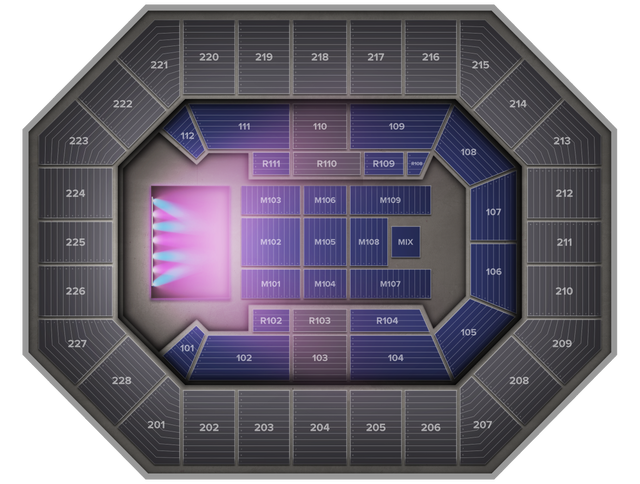 Casting Crowns At Us Cellular Center Tickets From 34 Saturday - Us-cellular-seat-map