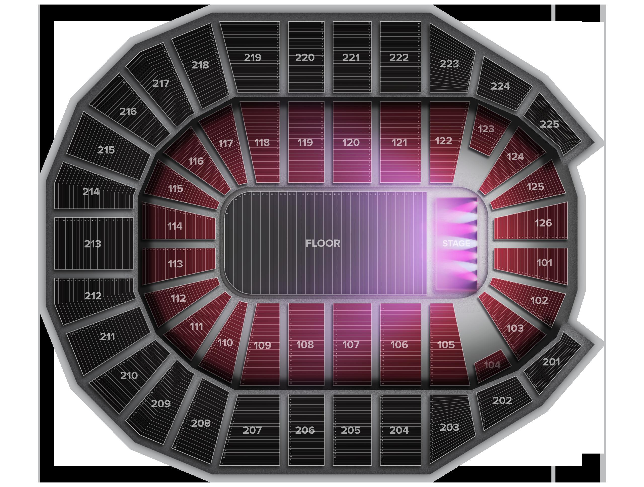 Verizon Arena Tickets