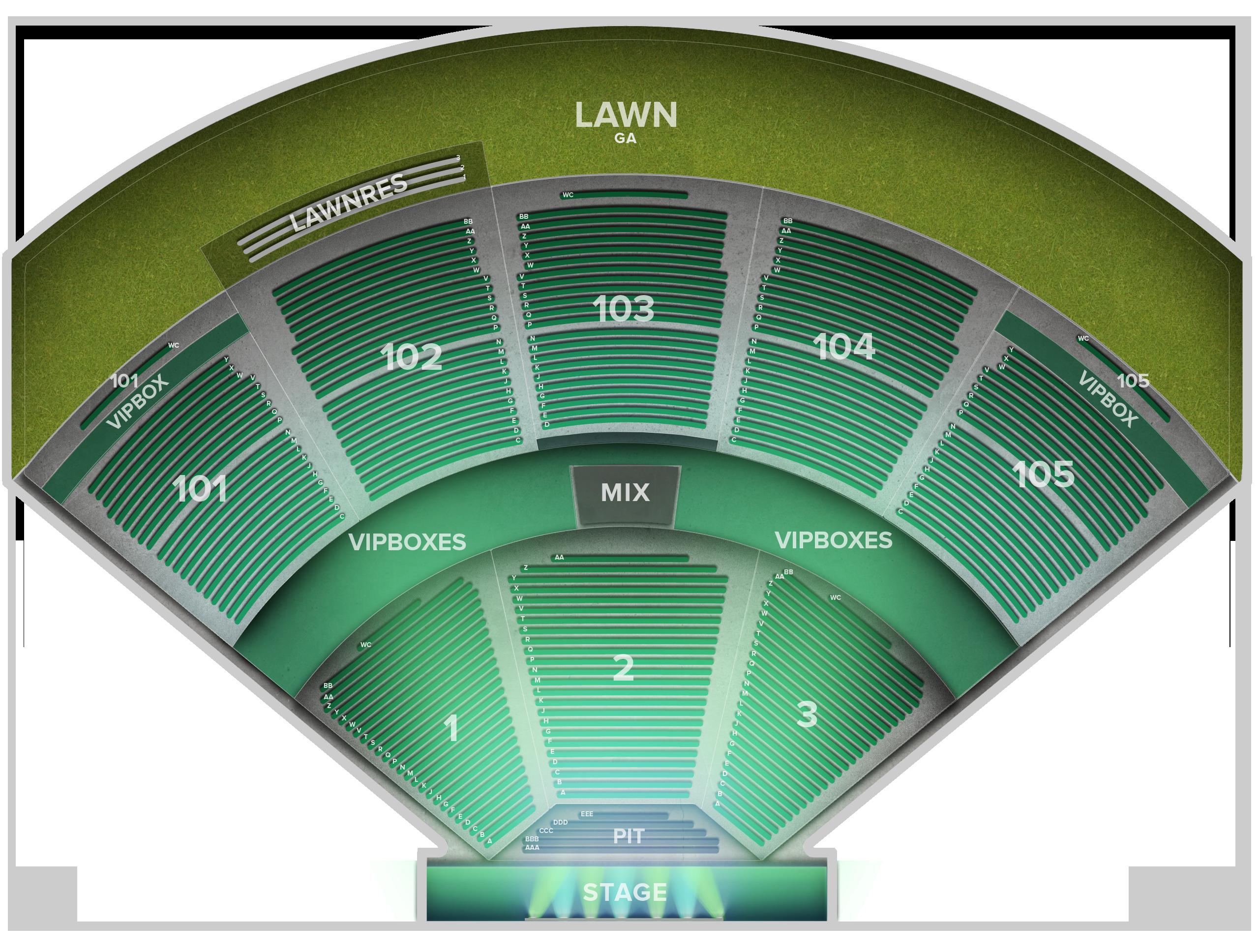 Verizon Wireless Amphitheater Tickets