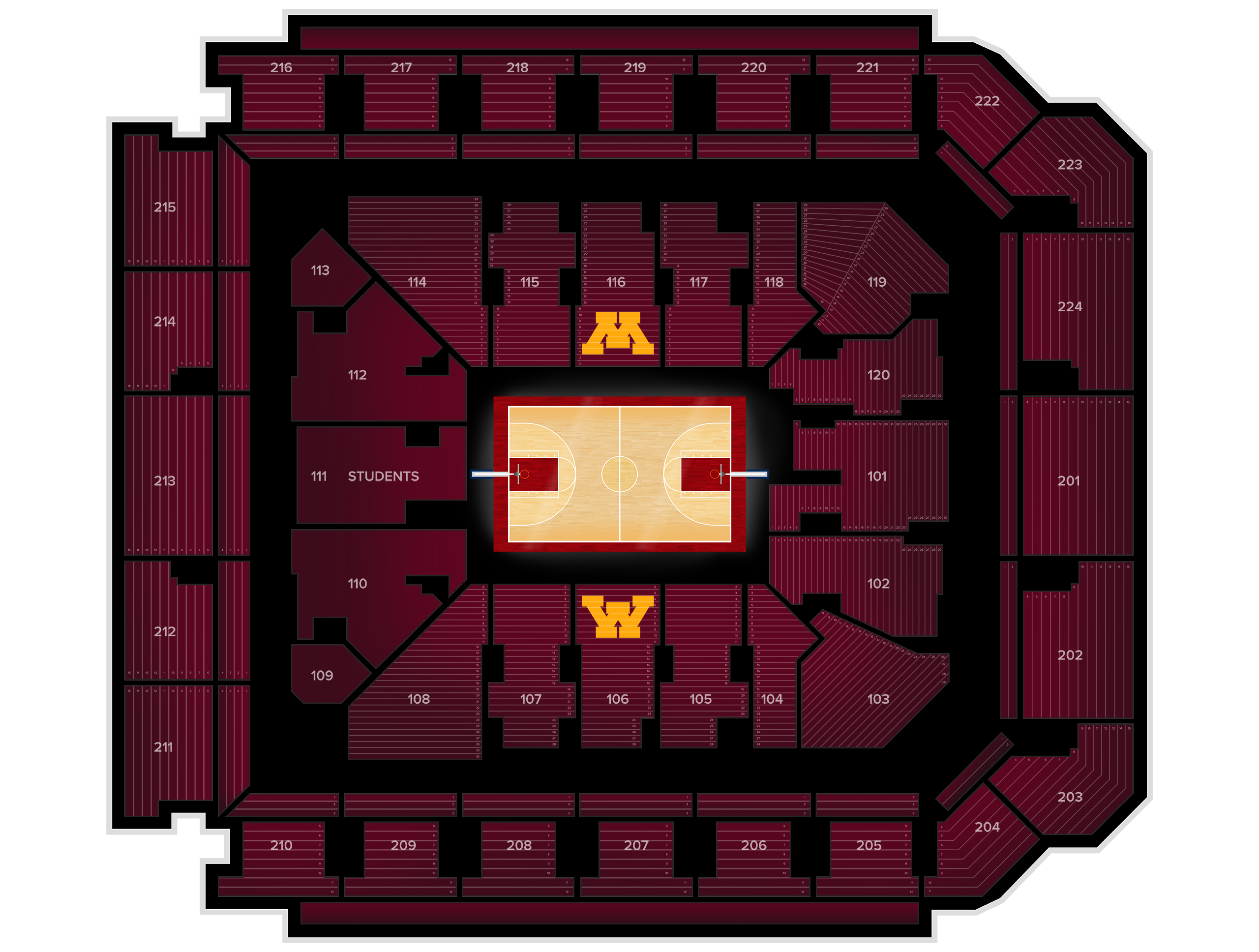 Williams Arena Tickets